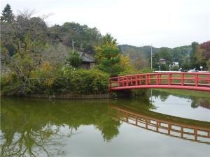 弁天沼(鳴かずの池)