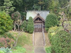 里山の神社