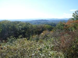 多峯主山からの眺め