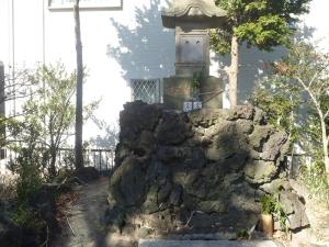 上鎌田の富士塚