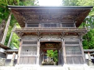 大悲願寺の仁王門