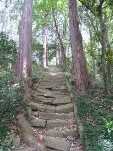 三内神社の石段