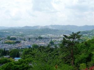 妙見山からの眺め