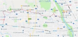 武蔵増戸~福生 マップ